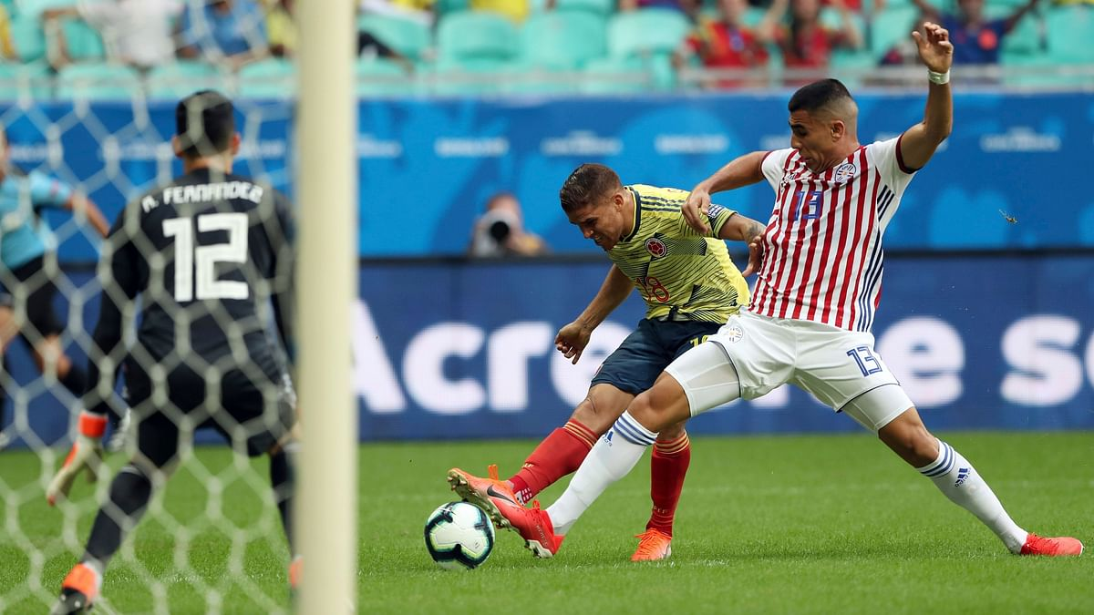 Colombia Beats Paraguay at Copa America to Stay Perfect