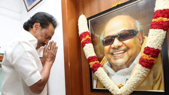 On Karunanidhi's Birth Anniversary, Stalin, Rahul Pay Tribute