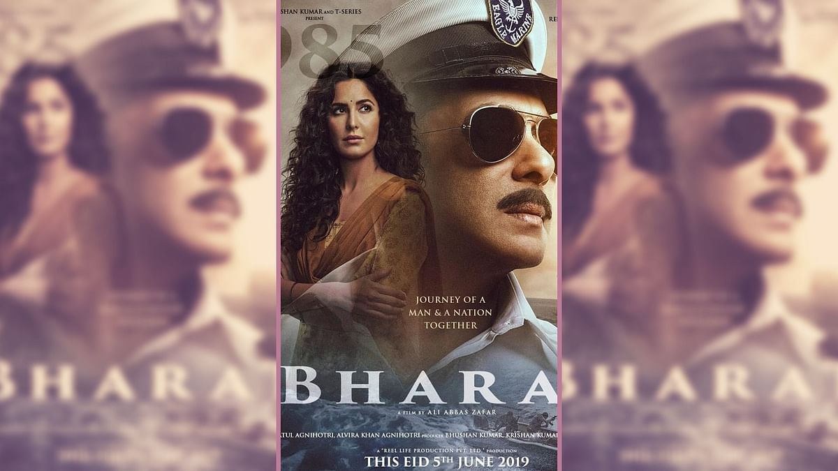 Bharat Box Office Collection Day 1: Salman's Biggest Eid Opener at Rs 42.30 Crores: A poster for Salman Khan and Katrina Kaif starrer <i>Bharat</i>.