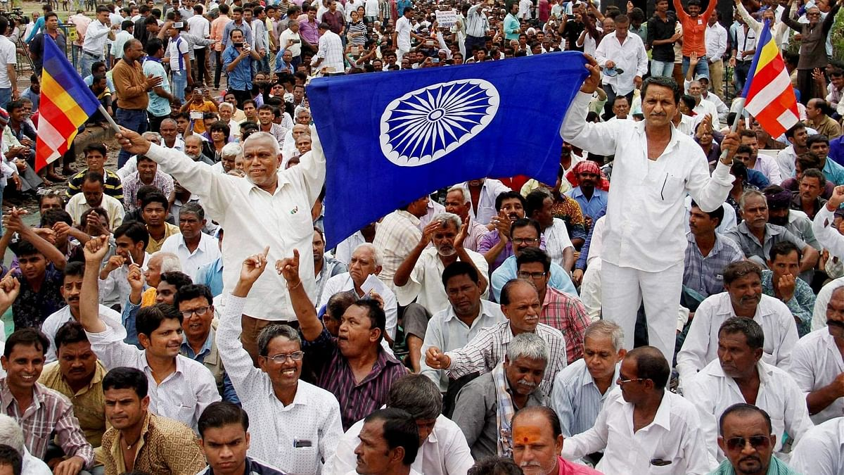 Dalits organised protests against atrocities against the community in Gujarat. (Used for representational purposes).