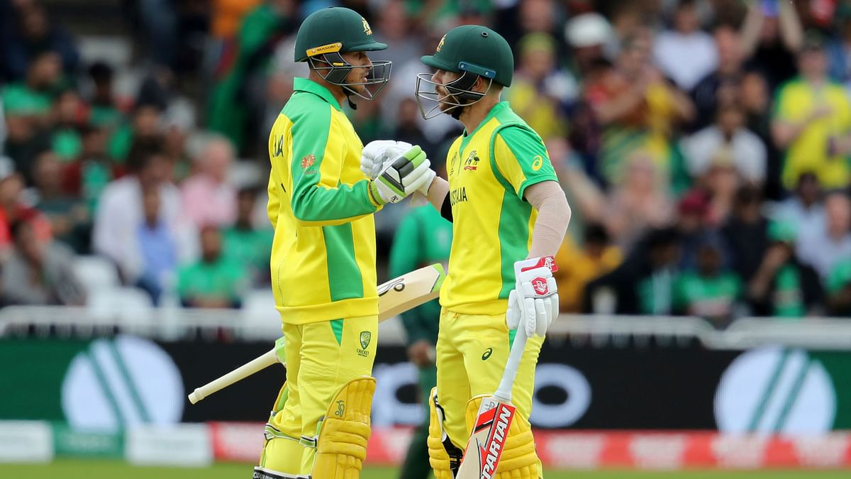 Usman Khawaja and David Warner put up a 192-run stand for the second wicket.