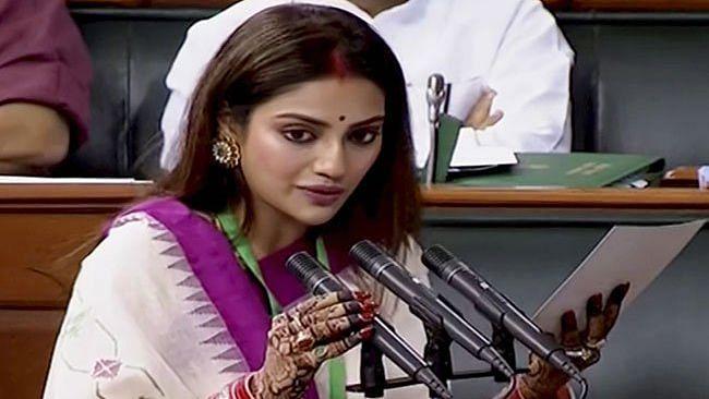 Represent Inclusive India: Nusrat on Criticism for Wearing Sindoor