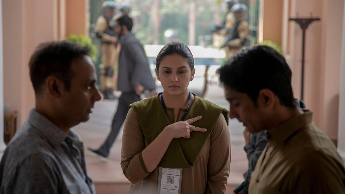 Huma Qureshi in <i>Leila</i>.