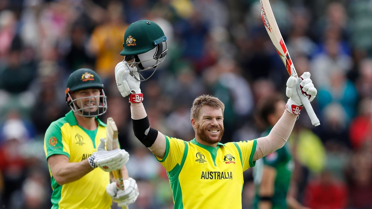 David Warner wasn't exactly back to his best, but he still reached triple figures from 102 balls.