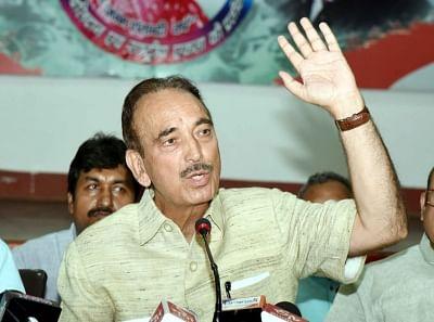 Ghulam Nabi Azad. (Photo: IANS)