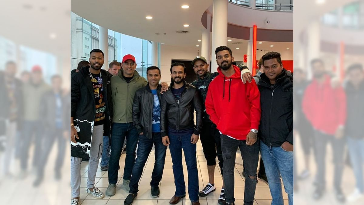 Dhawan, Dhoni & Co Watch Salman's 'Bharat' Between WC Matches