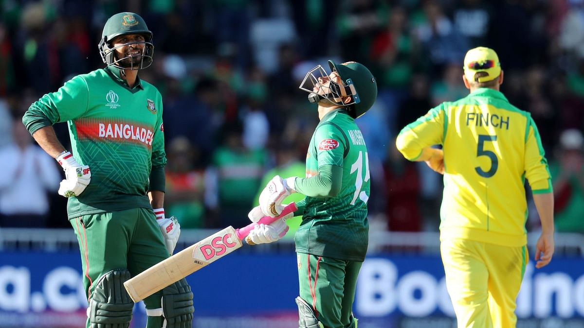 With the 102 not out, Mushfiqur Rahim scored his first hundred in a World Cup game and seventh overall.