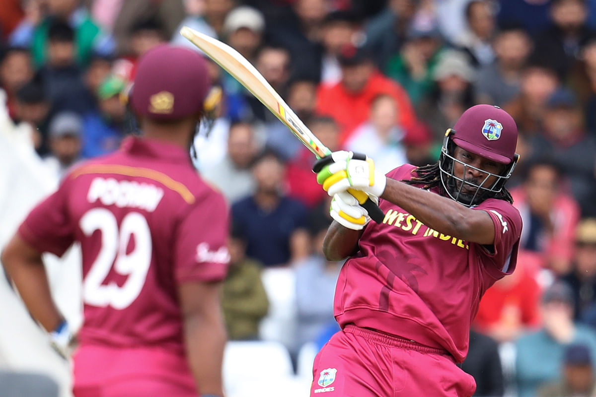 West Indies Raked up a mammoth total of 421 against New Zealand in the Warm-up game.