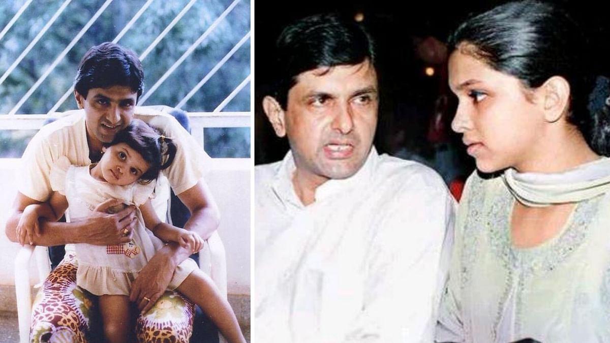 Prakash Padukone B'day Special: Rare Pics Of Deepika With Daddy