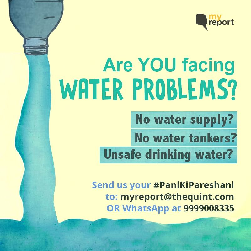 We Only Get Water for 15 Minutes in Our Society in Mumbai