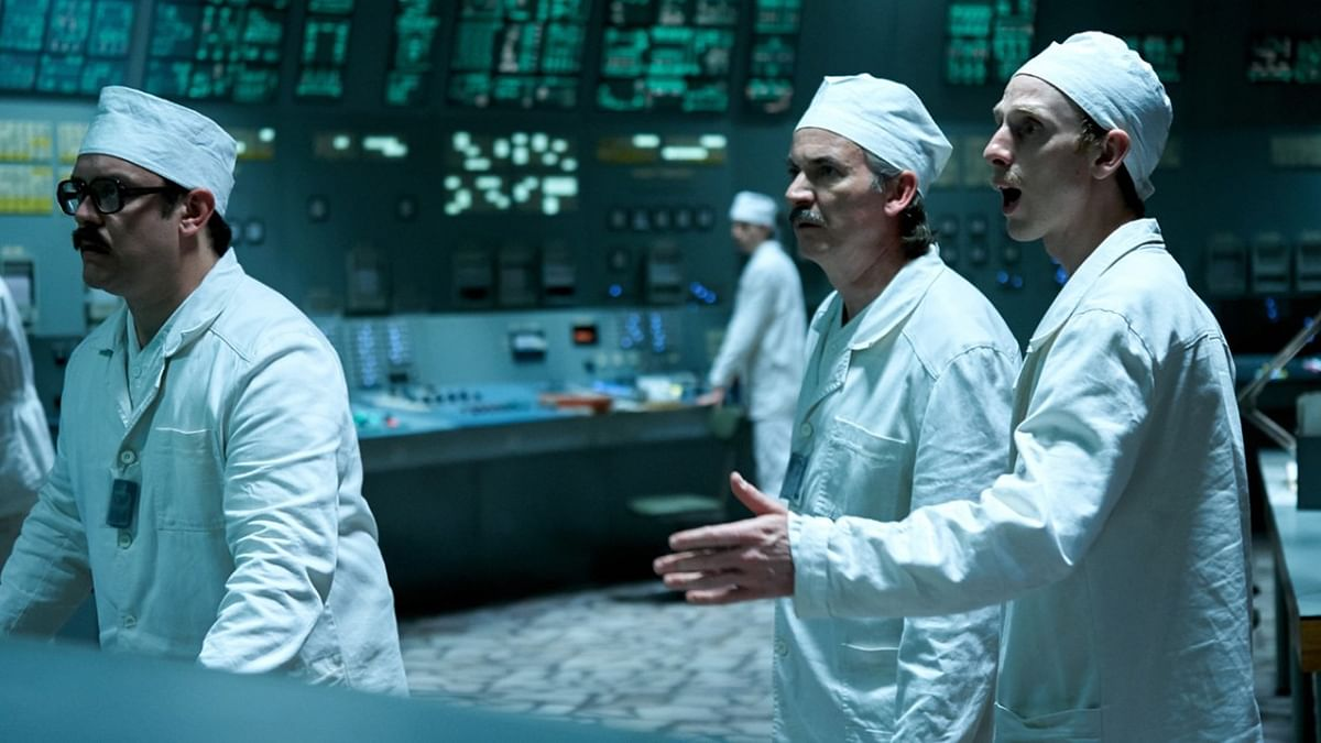 A still from the show <i>Chernobyl</i>.