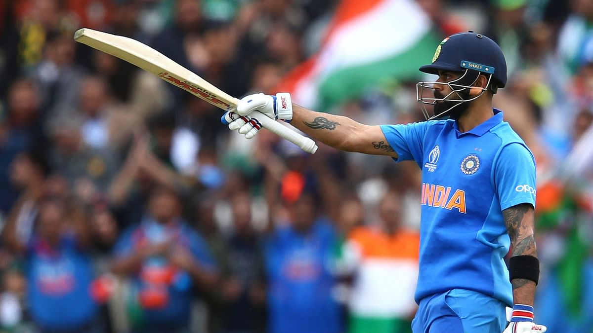 Indian captain Virat Kohli became the fastest batsman to reach the 11,000-run mark in One Day Internationals during India vs Pakistan.