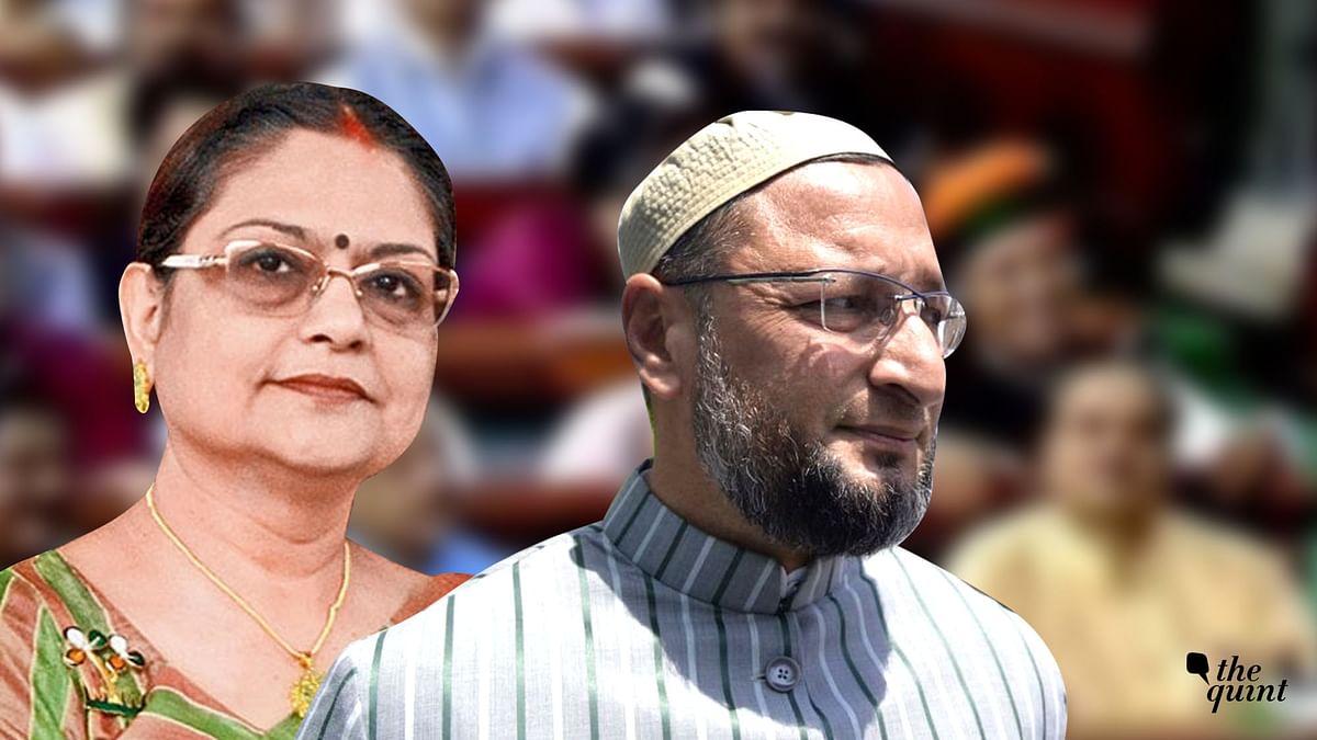 TMC's Kakoli Ghosh Dastidar and AIMIM's Asaduddin Owaisi responded to the BJP's heckling in the Lok Sabha.
