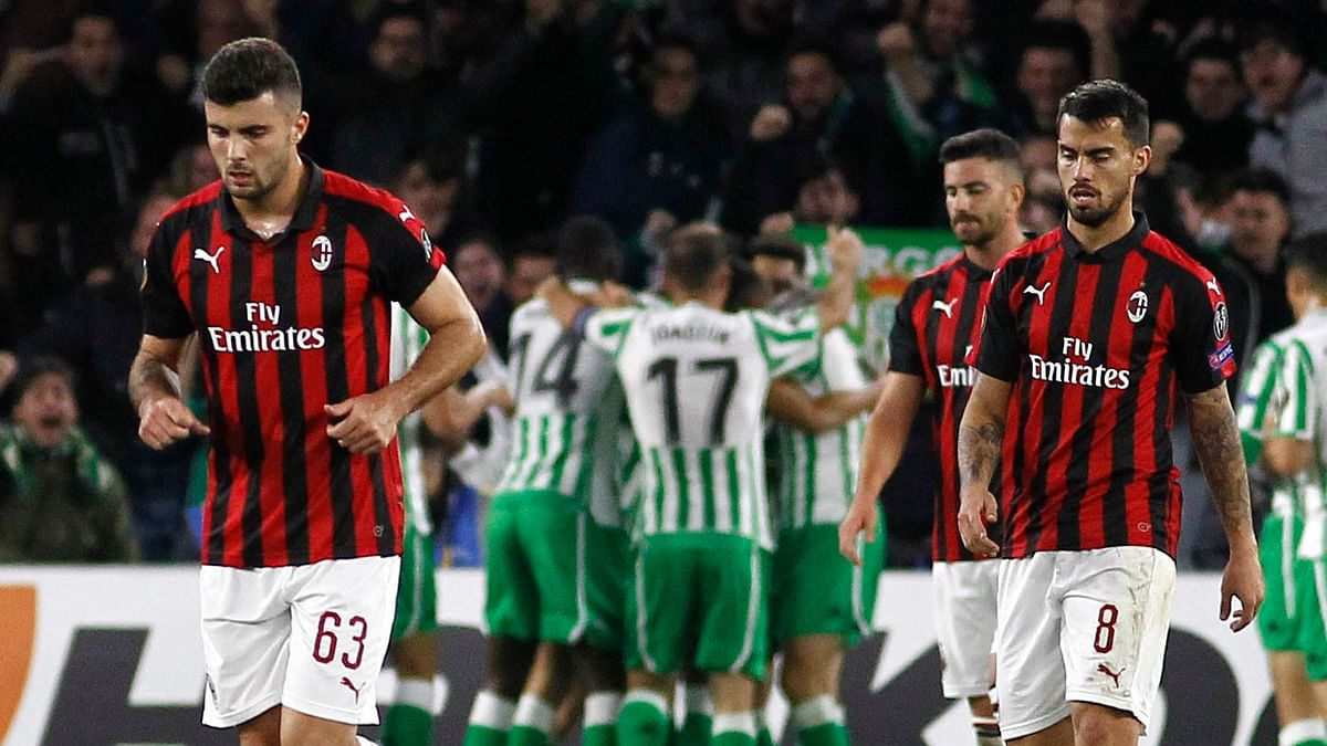 AC Milan Withdraw from Europa League for Finance Breaches