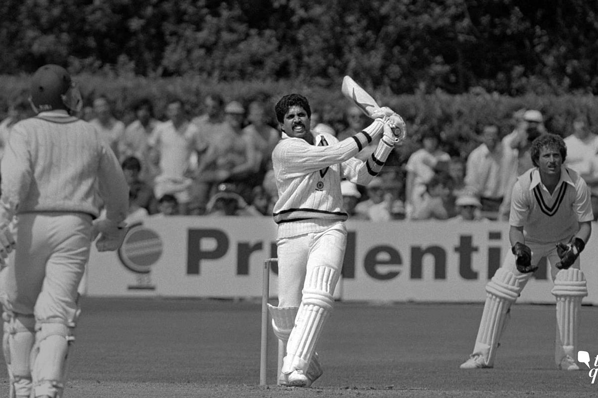 After being 17/5, Kapil Dev helped India post 266 against Zimbabwe.