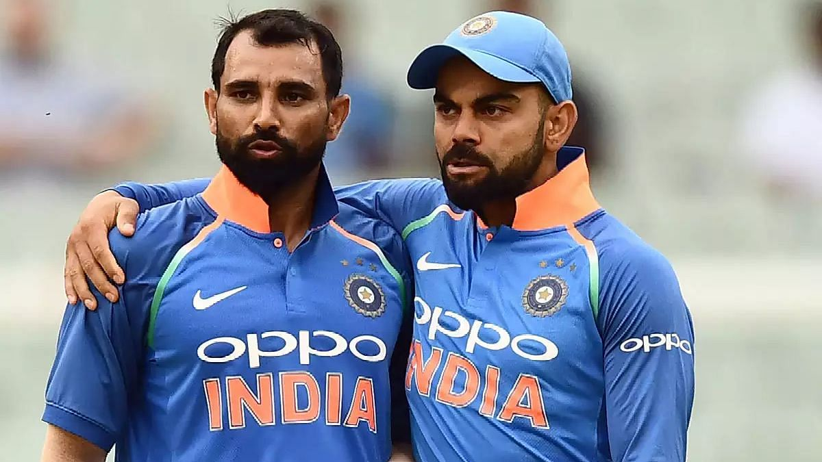 Mohammed Shami finished with five wickets in the three-match ODI series against Australia.