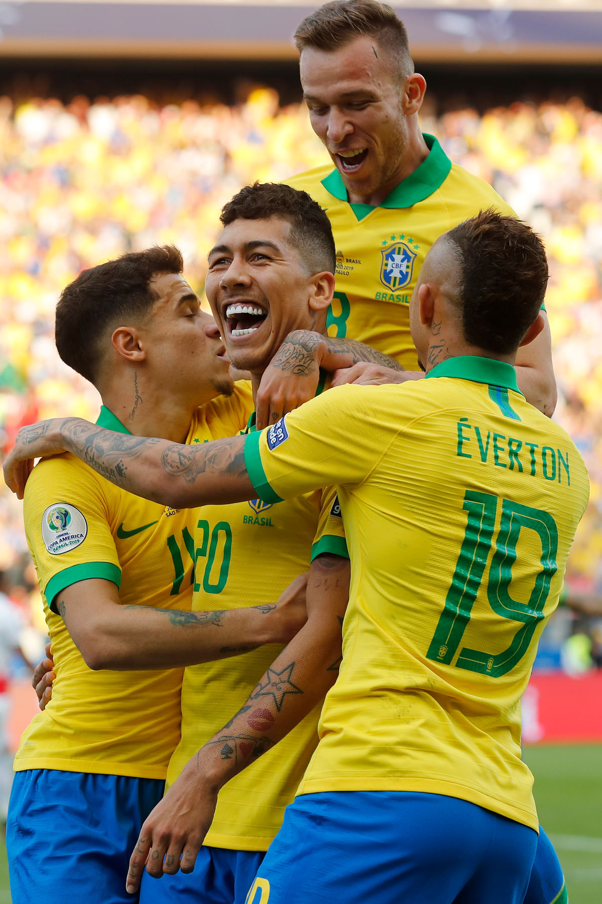Brazil Routs Peru 5-0 to Reach Copa America Quarterfinals
