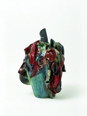 Untitled, Glazed ceramic, 2002.