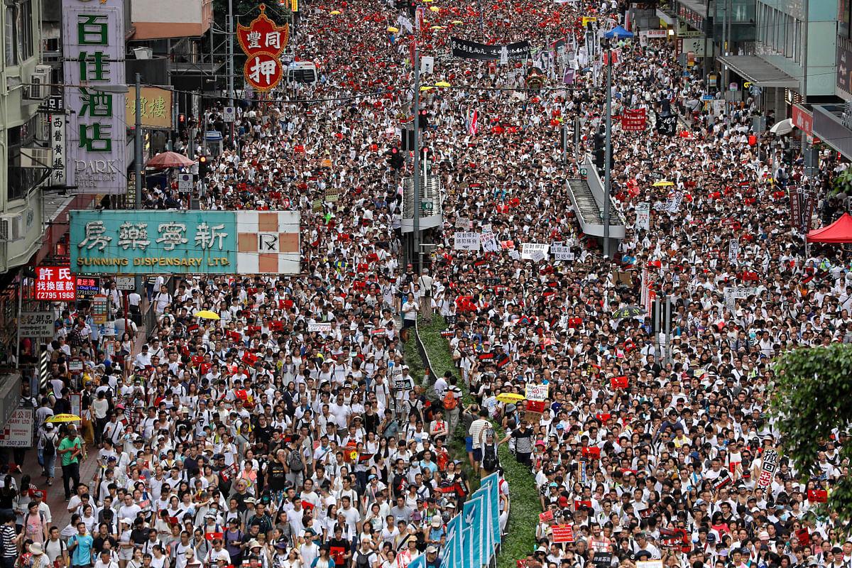 Mass Protests Protect Hong Kong's Legal Autonomy from China