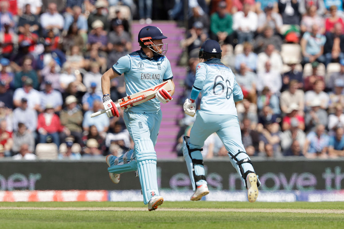 West Indies needed early wickets but openers Root and Jonny Bairstow (45) punctured all their hopes with a commanding 91-run stand.