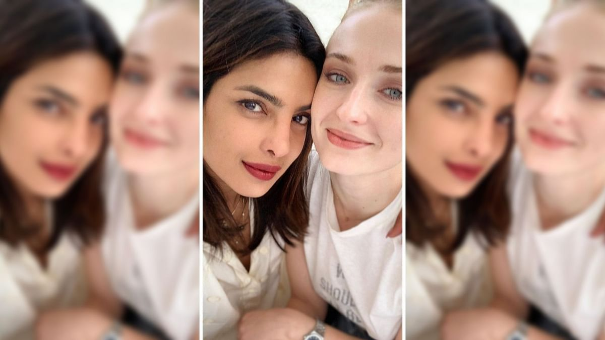 Priyanka Chopra shared a selfie with sister-in-law Sophie Turner.