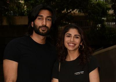 Actors Meezan and Sharmin Segal. (Photo: IANS)