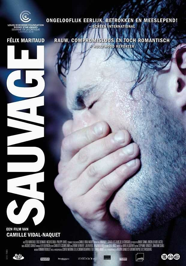 A poster for French film <i>Sauvage</i>, which was part of the line-up of the 10th Kashish Mumbai International Queer Film Festival.