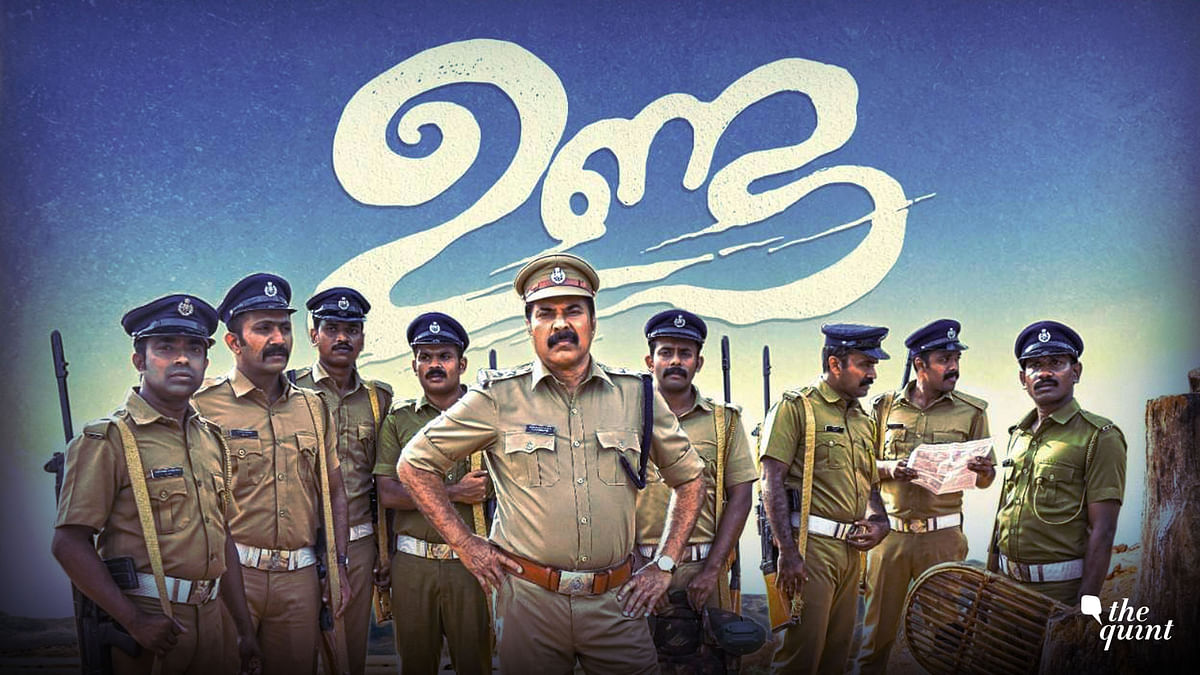 Mammootty plays the role of a cop who heads a team of Kerala police in Bastar for election duty.