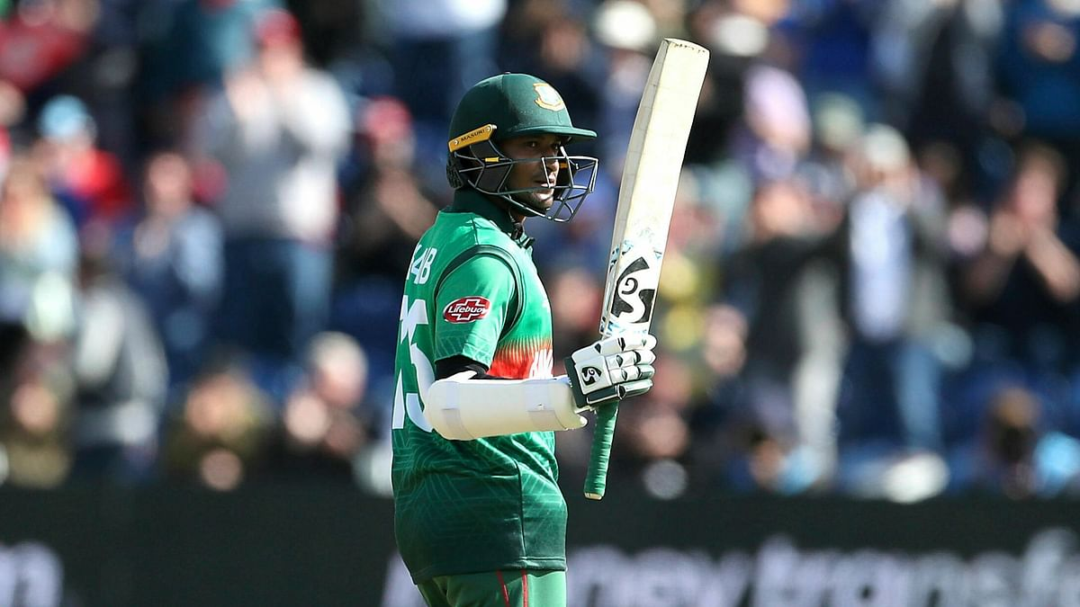 Shakib Al Hasan became to first Bangladesh cricketer to score 1,000 runs in World Cups.
