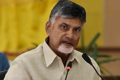 Andhra Pradesh Chief Minister N. Chandrababu Naidu. (Photo: IANS)