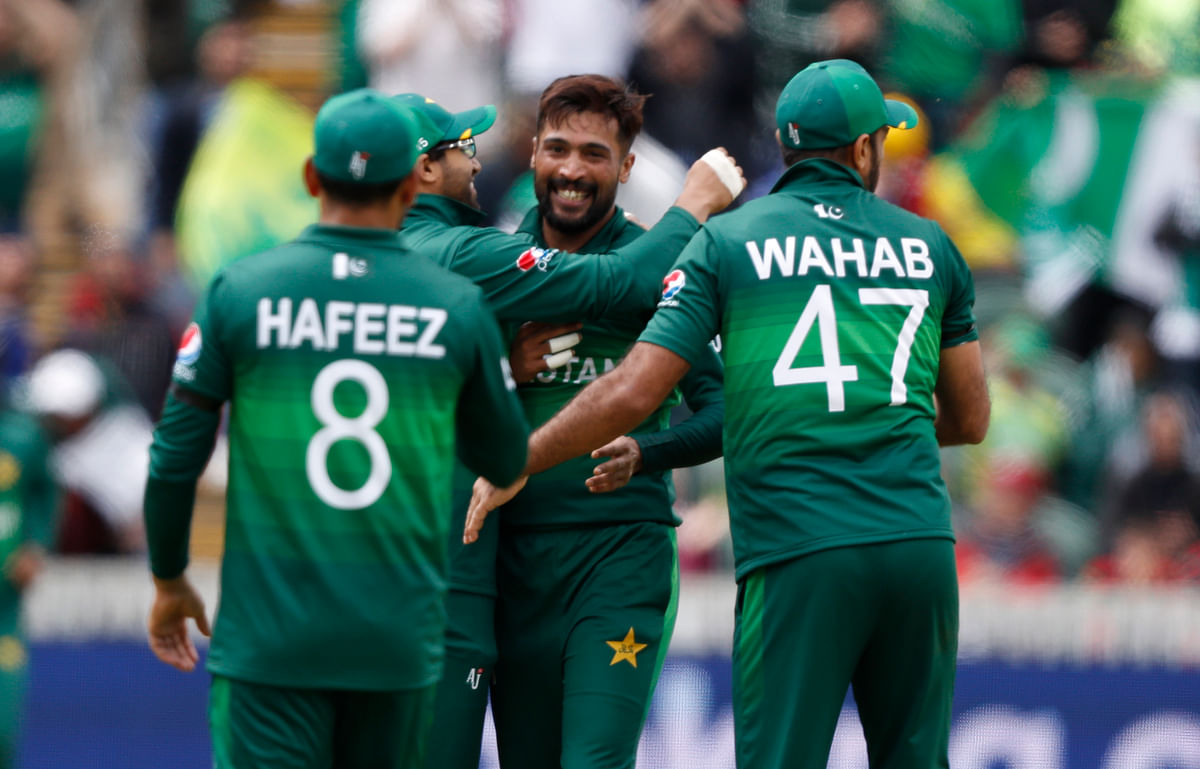 Amir provided Pakistan the much-needed breakthrough when he had Finch hitting one high up in the air towards extra cover.