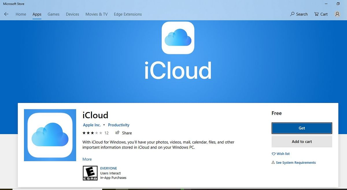 Windows 10 Users Can Now Download Apple iCloud App to Their PCs