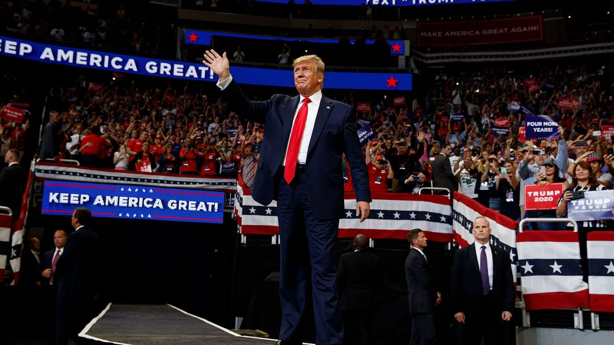 US President Donald Trump Officially Kicks off Reelection Campaign