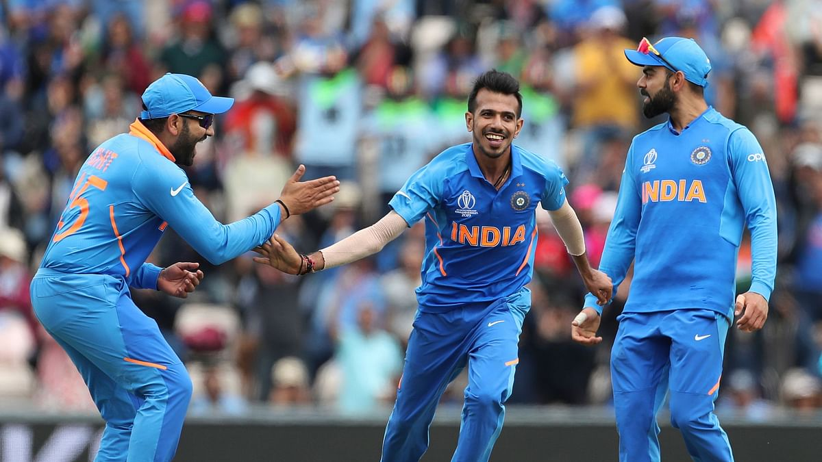 Yuzvendra Chahal picked up four wickets in India's ICC World Cup match against South Africa.