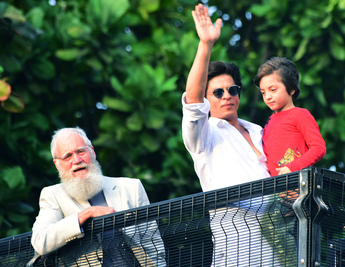 Shah Rukh Khan wishes his fans on Eid.