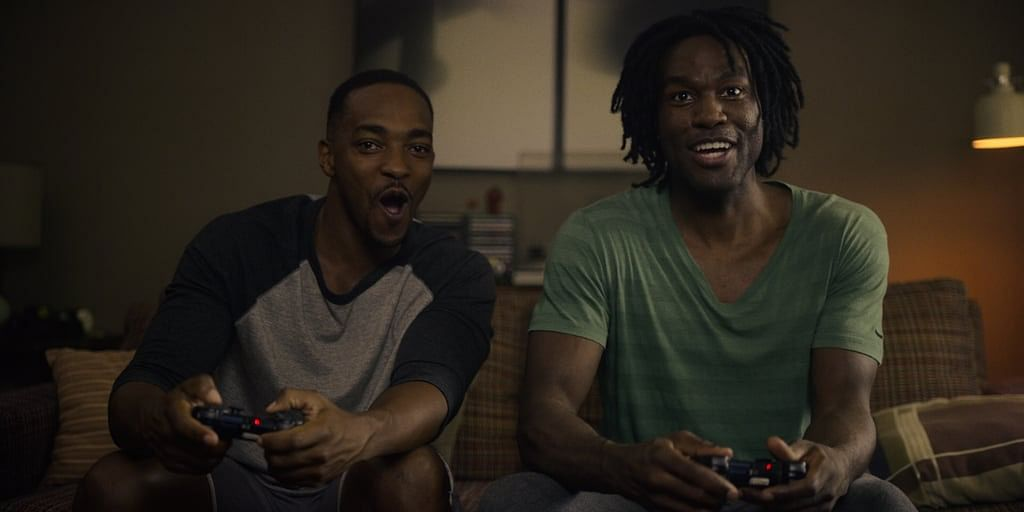 Anthony Mackie and Carl Yahya Abdul-Mateen II play Striking Vipers.