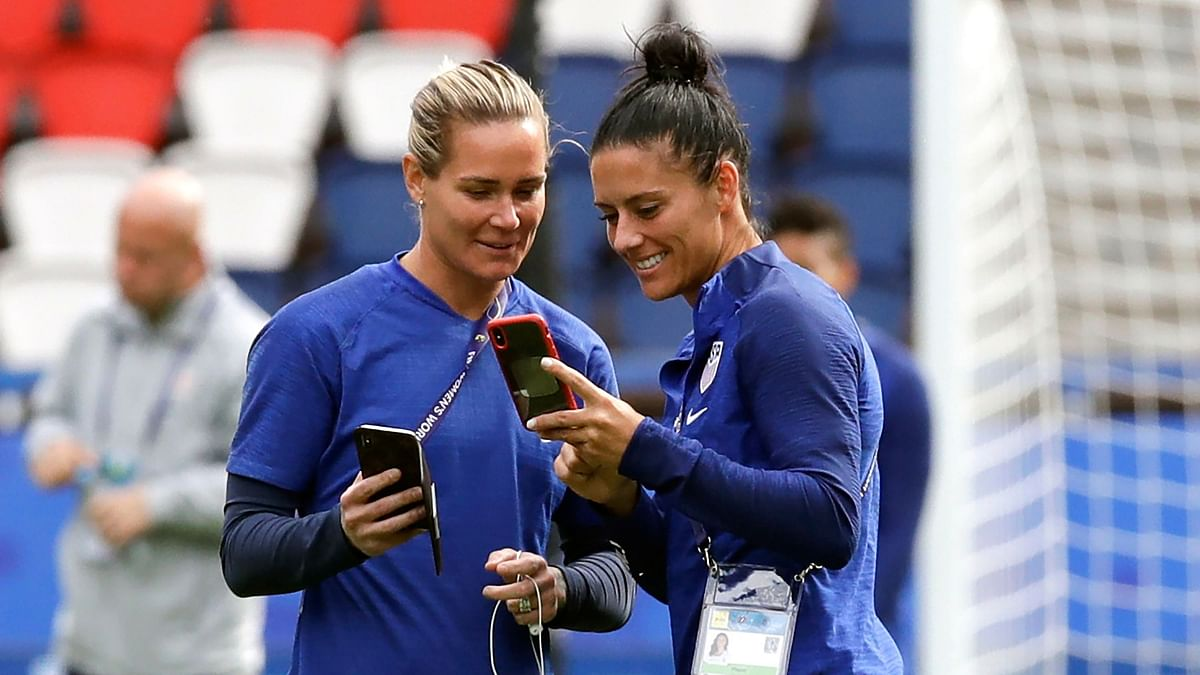 Wedding to Follow World Cup for US Teammates Krieger, Harris
