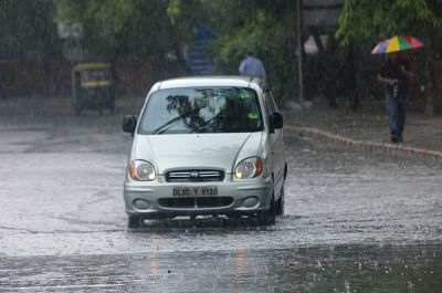 Rains lash Delhi. (File Photo: IANS)