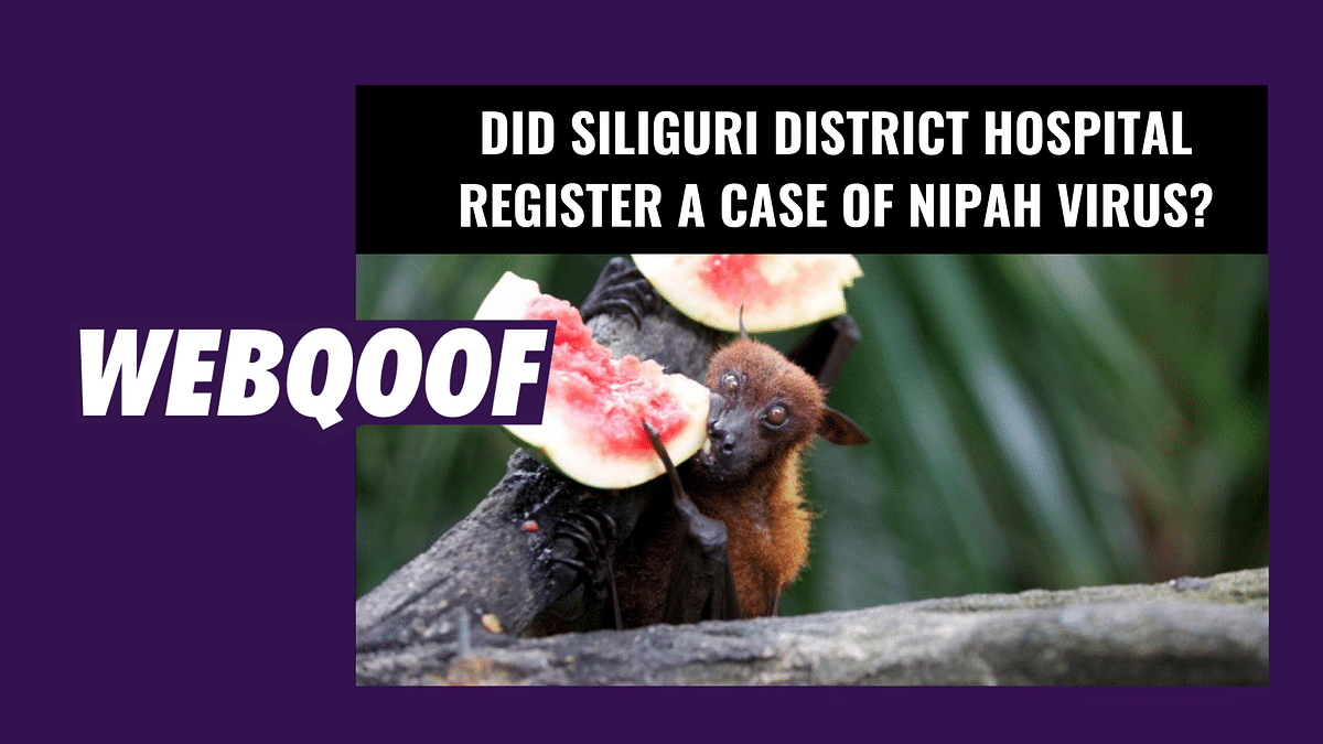 Did Siliguri District Hospital Register  a Case of Nipah Virus?