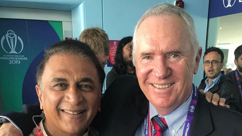 Legends Reunite: Sunil Gavaskar-Allan Border Meet at Lord's