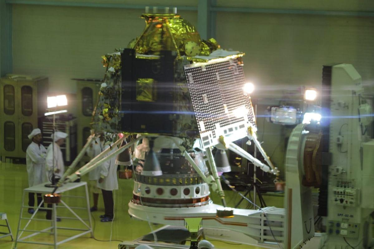 The Vikram lander.