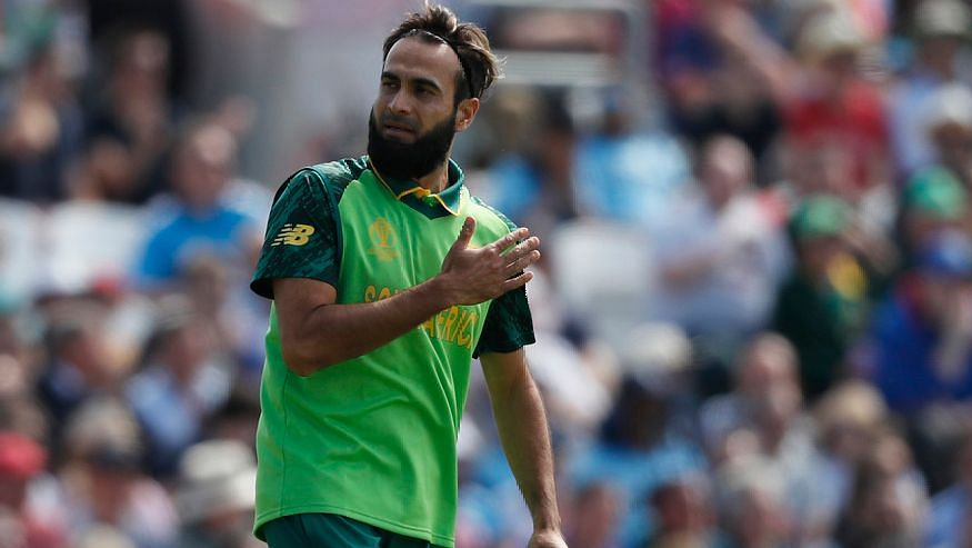 Playing his 100th game for South Africa, Tahir picked up two wickets including the one off Shakib.