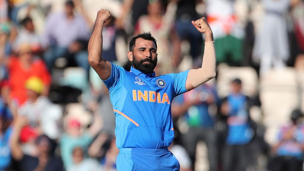 Shami Reveals What Dhoni Said Before His Hat-trick Vs Afghanistan