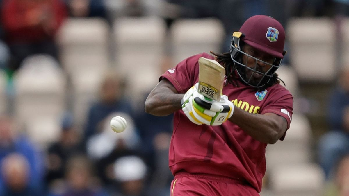 Chris Gayle's 36 in the World Cup group game against England was eventful.