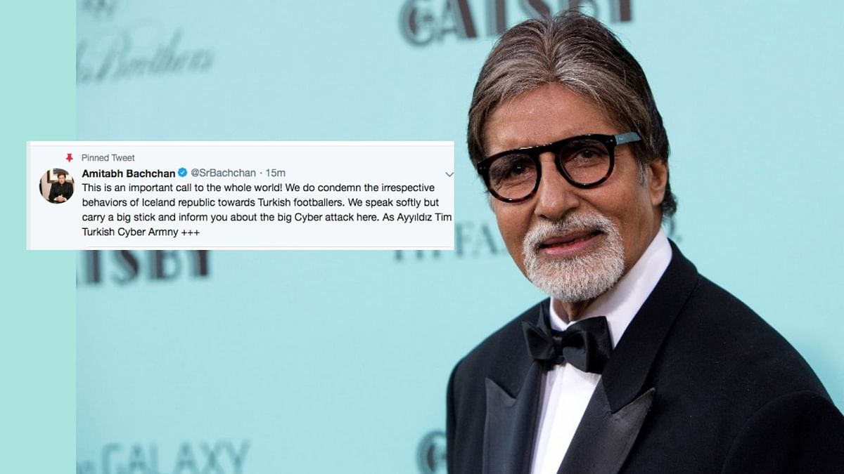 Amitabh Bachchan's Twitter Account Hacked by Pro-Pakistan Hackers
