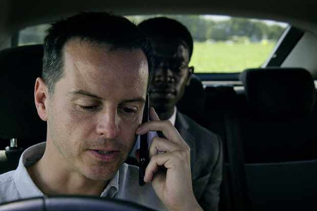 Andrew Scott plays a rideshare driver in Smithereens.