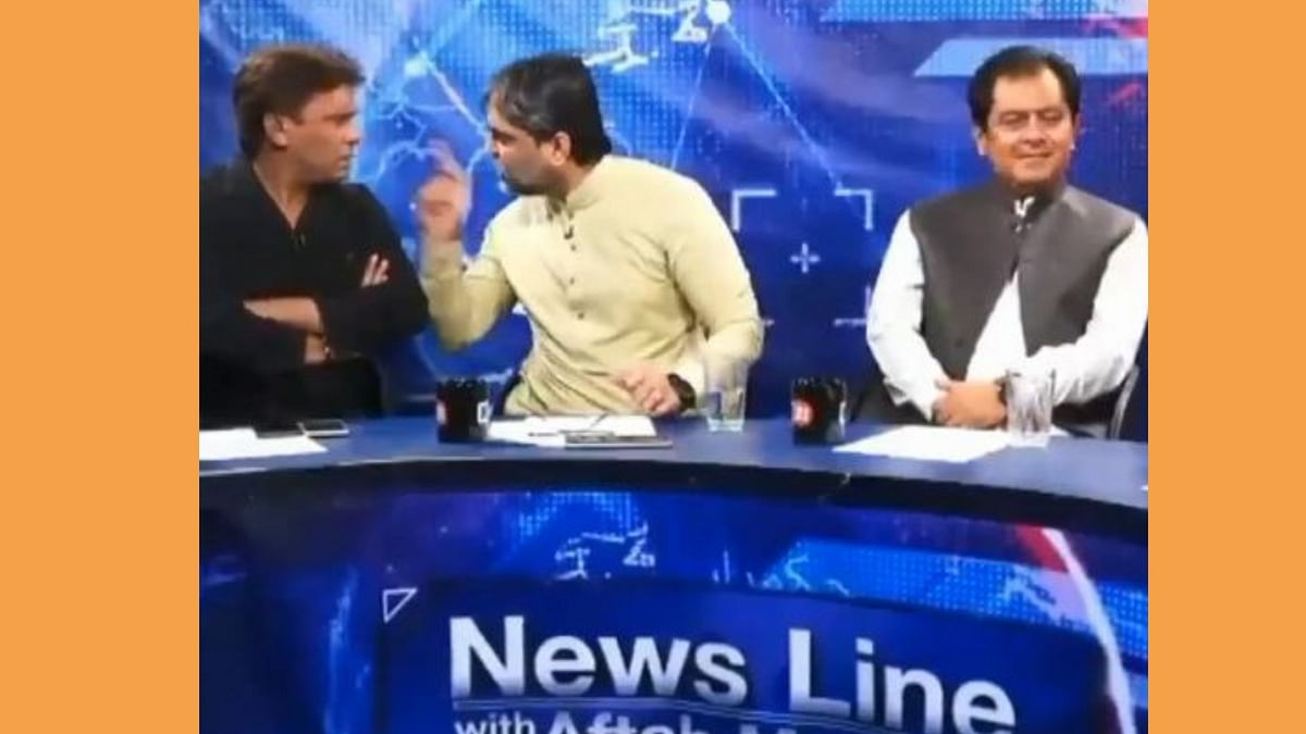 Video of Pakistan Leader Punching Journalist on Live TV Goes Viral