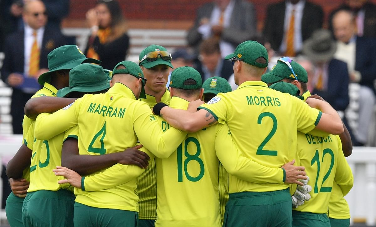 Ali Bacher can't hide the pain as South Africa go down at the ICC World Cup in England.