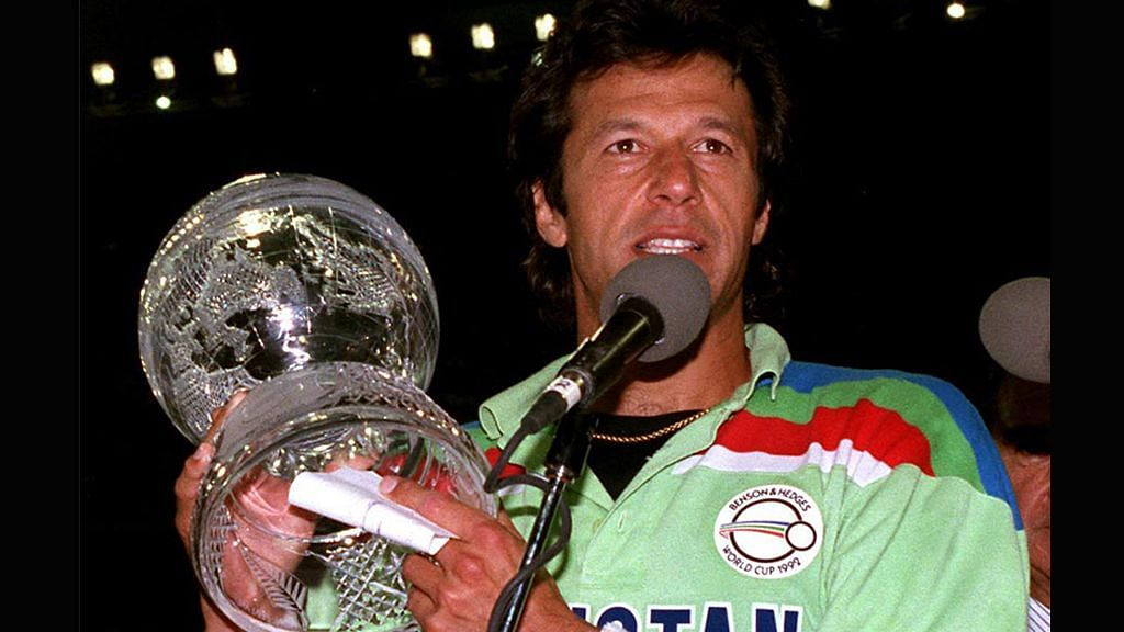Imran Khan led Pakistan to their only World Cup title in 1992.