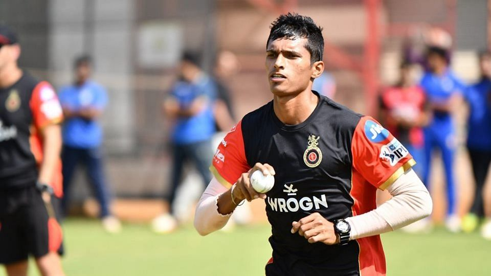 Navdeep Saini was a part of India's original stand-by list for the ICC World Cup.